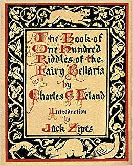 [Cover ofThe Book of One Hundred Riddles of the Fairy Bellaria]